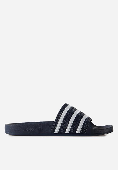 5a973dc21132 Adilette - blue white blue adidas Originals Sandals   Flip Flops ...
