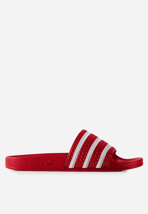 96bd3386c adidas Originals Adilette OG - 288193 - light scarlett white adidas ...