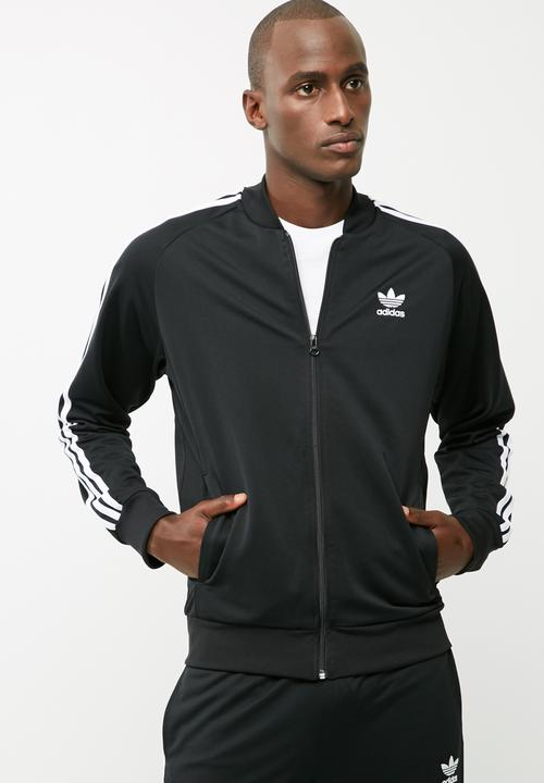 black and white adidas jacket mens