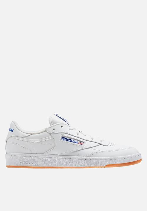 0fd8017894ae2 Reebok Club C 85 Foundation - AR0459 - White Royal Gum Reebok ...