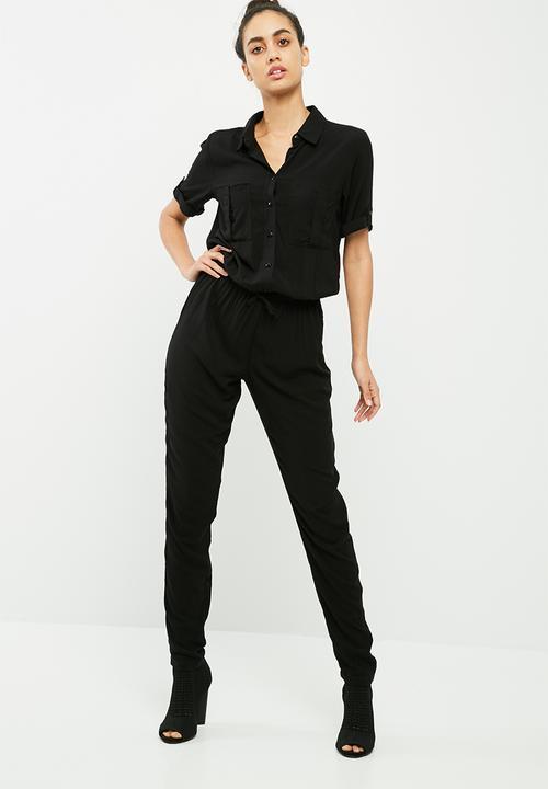 47d0acacc4e Cilla s s jumpsuit - black Jacqueline de Yong Jumpsuits   Playsuits ...