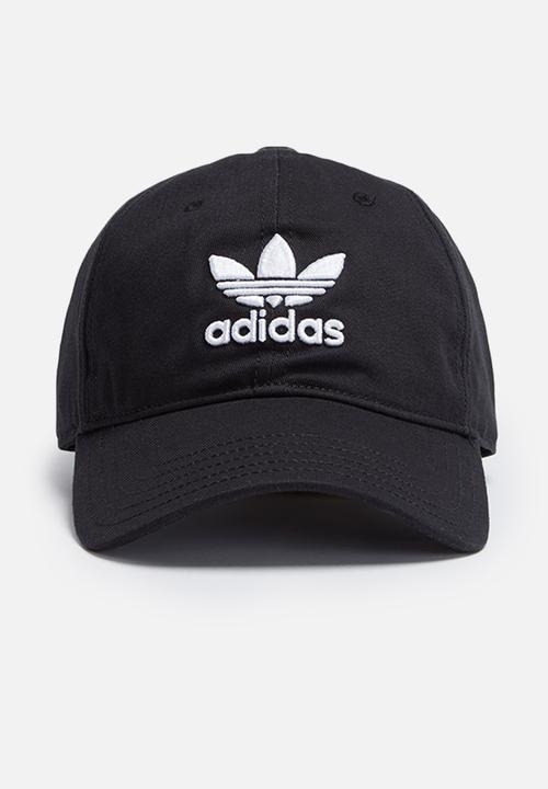Trefoil classic cap-black adidas Originals Headwear  2b032c2761f3