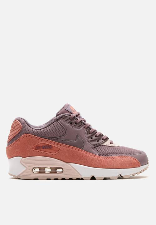 354b291aac2e Nike W Air Max 90 - 325213-611- Red Stardust   Taupe Grey Nike ...