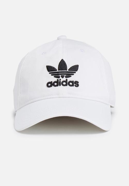 8b52bec6850 Trefoil classic cap-white black adidas Originals Headwear ...