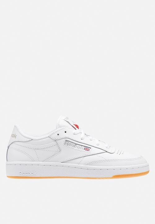 dbc744026d0 Reebok Club C 85 - BS7686 - white light grey gum Reebok Classic ...