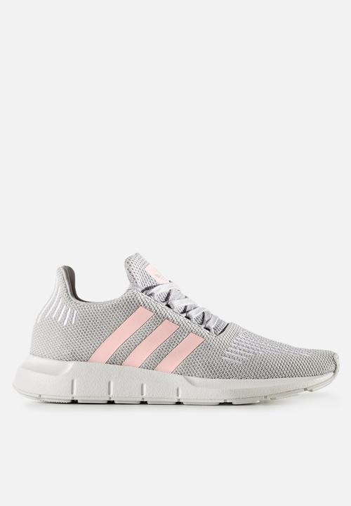 8a077cd63 adidas Originals Swift Run - CG4140 - Grey Two   Icey Pink adidas ...