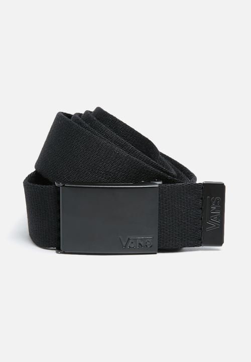 1e7da716d852b3 Deppster II web belt -black Vans Belts