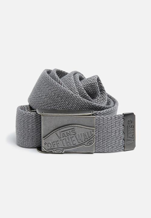 8340baeef3952c Conductor web belt - heather suiting Vans Belts