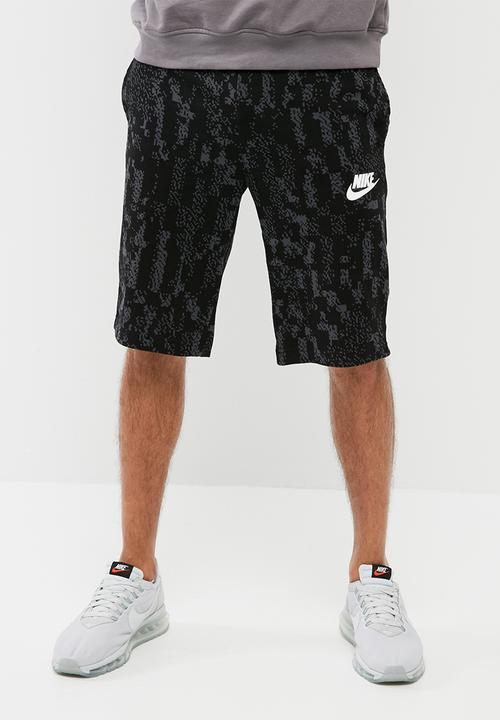 c34c0ee13 M NSW SHORT JSY CLUB GFX-BLACK (WHITE) Nike Sweatpants   Shorts ...