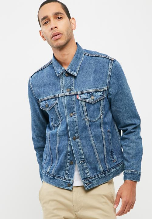 3f32b74140aed The Trucker Jacket - Medium Stonewash Levi s® Jackets