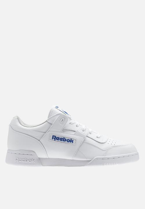 933a08a138f Reebok Workout Plus - 2759 - White Royal Reebok Classic Sneakers ...