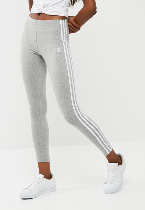 32dffb3e97d 3stripe leggings - medium grey adidas Originals Bottoms ...