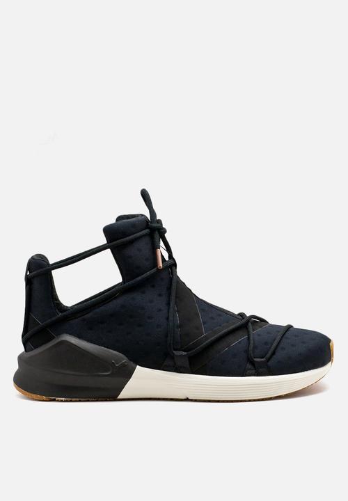f69e330f62ff86 PUMA Fierce Rope VR Wmn s - 190136 02 - Black   White PUMA Sneakers ...