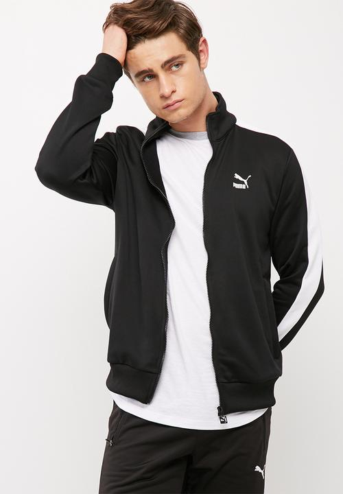9c658ed06d2c Archive T7 track jacket-black PUMA Hoodies