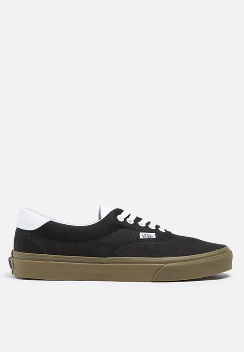 Vans Era 59 Bleacher - Black   Gum Vans Sneakers  89f788d8d