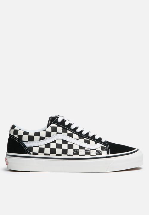 2f79e6b431 Vans Anaheim Factory Old Skool 36 DX - Black Check Vans Sneakers ...