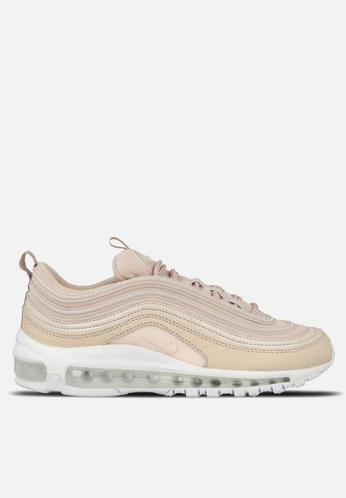00c31a53aa Nike W Air Max 97 PRM - 917646-600 - Silt Red / White / Black Nike ...