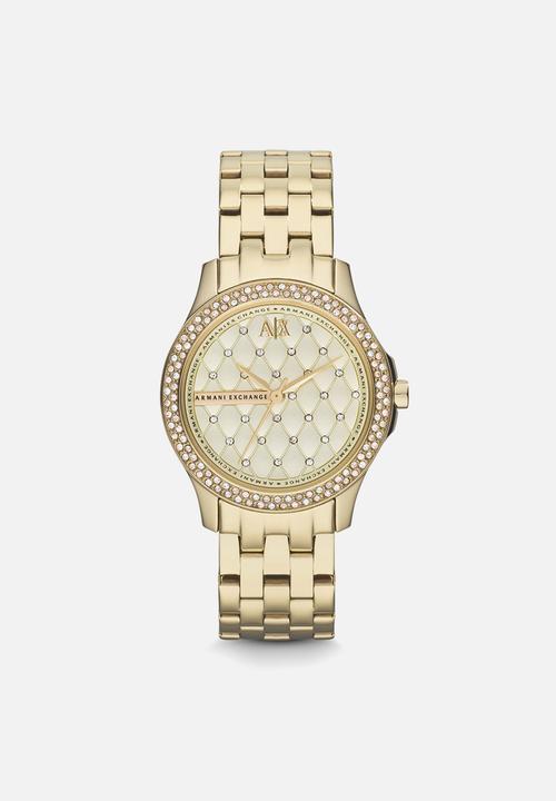 c82949a0302 Lady Hampton-AX5216-gold Armani Exchange Watches | Superbalist.com