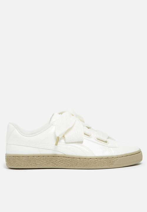 Basket Heart Wn s - 363073 06 - Marshmallow PUMA Sneakers ... ae5a46915