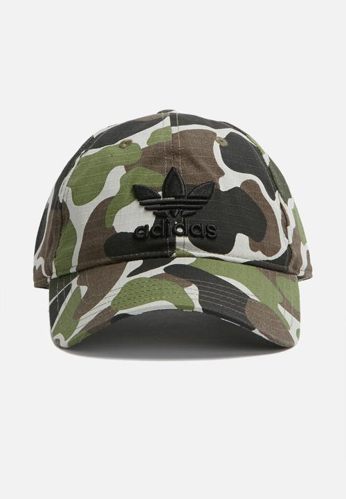 4e3adf22d08 Baseball cap camo adidas Originals Headwear
