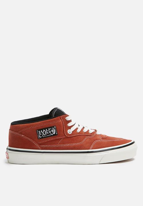 Vans Anaheim Factory Half Cab 33 DX - OG Rust Vans Sneakers ... 1af45b89e
