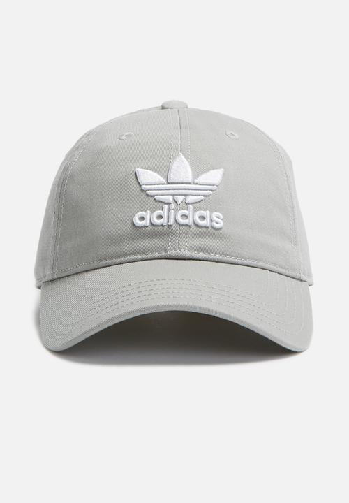 742f3327502 Trefoil cap OSFW - solid grey adidas Originals Headwear ...