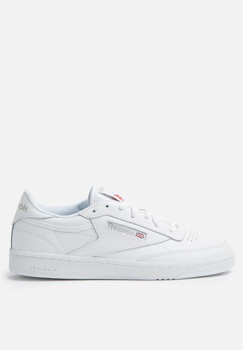 67350ebf04e4 Reebok Club C 85 - BS7685 - White Light Grey Reebok Classic Sneakers ...