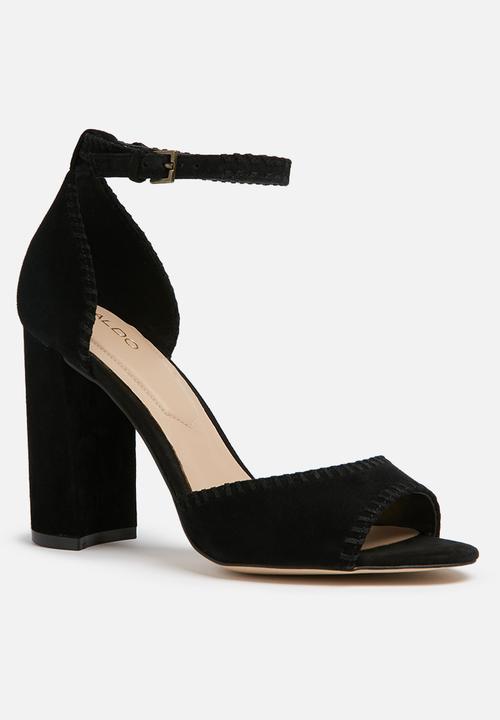 eafd1bb2028 Elvyne - black suede ALDO Heels