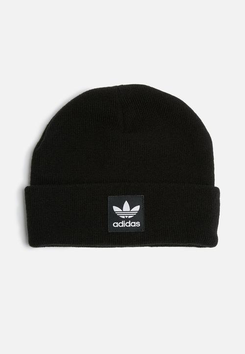 9e27460eaed Logo beanie - black adidas Originals Headwear