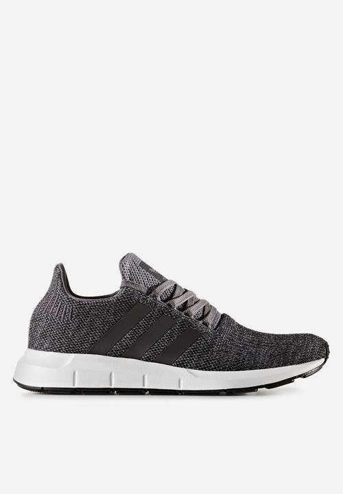 ec35f3299 adidas Originals Swift Run Melange - CG4116 - grey four core black ...