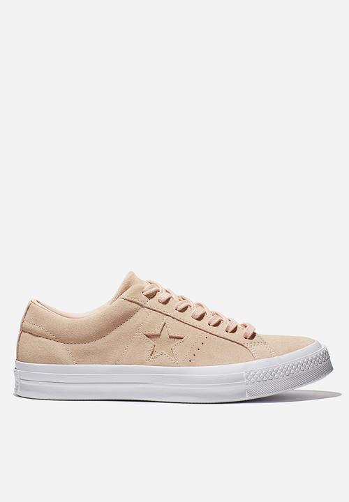 94f2521f10d2 Converse Cons One Star Suede - Pink Rose Converse Sneakers ...