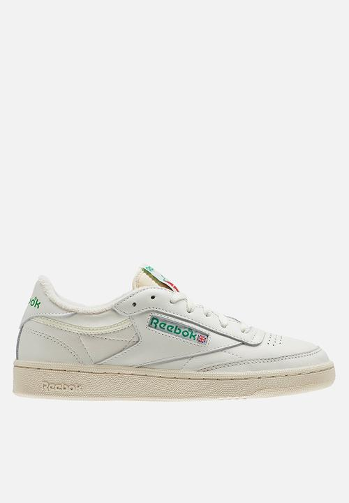 c2b58831e9eec Reebok Club C 85 Vintage - BS8242 - Chalk   Glen Green   Paper White ...