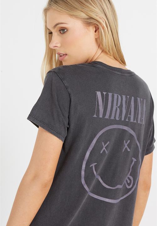 6e6cb651 T-bar fox graphic tee 4 - nirvana logo Cotton On T-Shirts, Vests ...