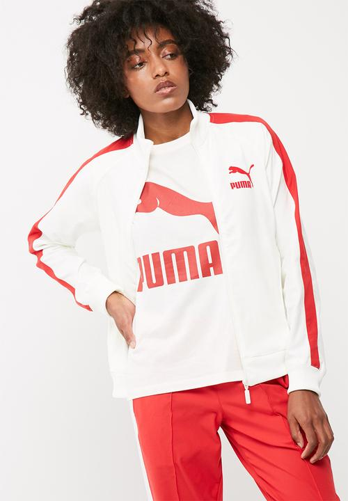 762426a8b18c True archive T7 track jacket - marshmallow PUMA Hoodies