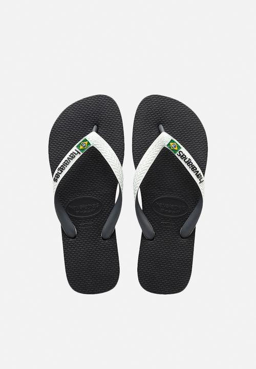 Brazil Mix - Blk White Havaianas Sandals   Flip Flops  26d8aeb48ed2