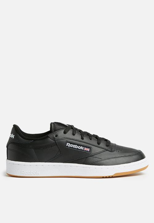 76a2da65e91939 Reebok Club C 85 Foundation - AR0458 - black white gum Reebok ...