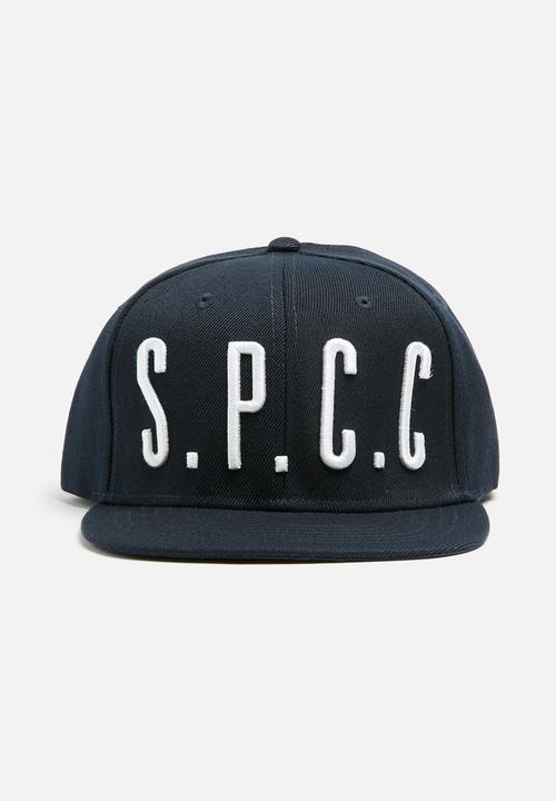SPCC embroidered flat peak cap - navy   white Sergeant Pepper ... 5a42d85754e