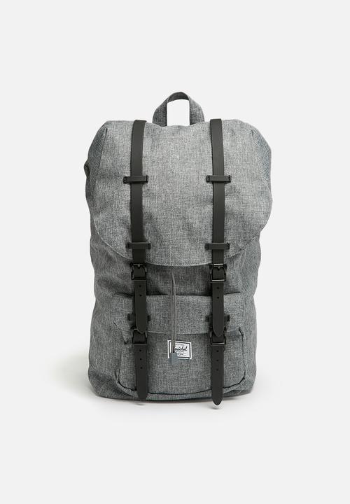 6b8973a907 Little America backpack - raven crosshatch Herschel Supply Co. Bags ...