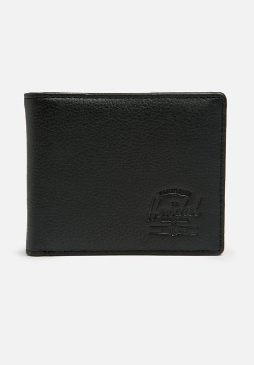 695d65d479fe Hank leather wallet-black pebble leather Herschel Supply Co. Bags ...