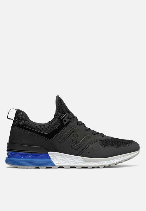 5fb44539 New Balance MS574SCS Sport - Black / Blue New Balance Sneakers ...