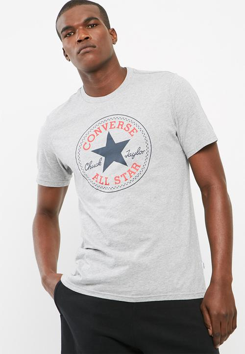 f48bfb0d6588 Core chuck patch tee  vintage grey heather Converse T-Shirts   Vests ...