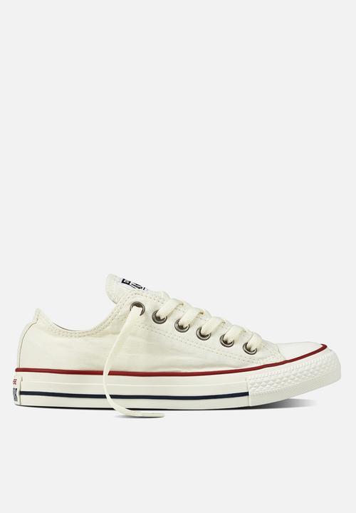 52e8564df19 Converse Chuck Taylor All Star - Ox White/Garnet/Egret Converse ...