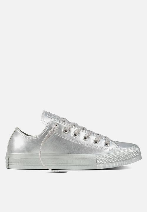 175a25593c64 Chuck Taylor All Star OX - silver silver - unisex Converse Sneakers ...