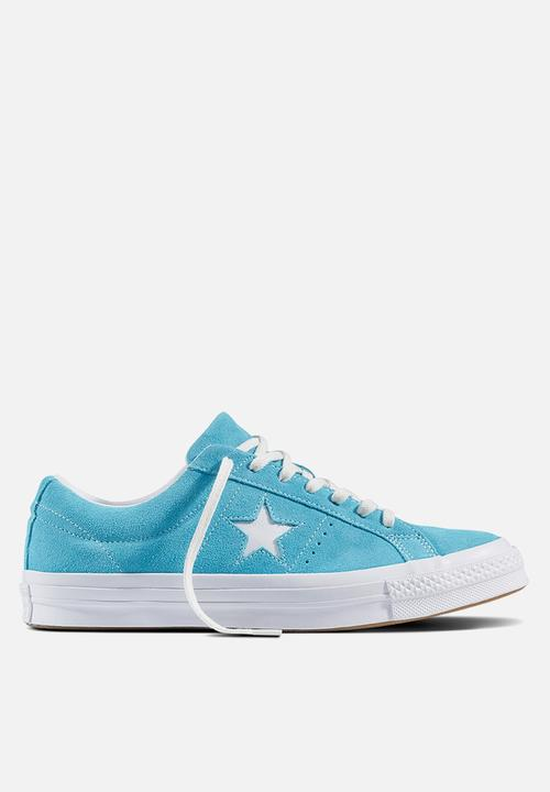 ac0e37634aed Converse Cons One Star - Classic Suede - Blue Converse Sneakers ...