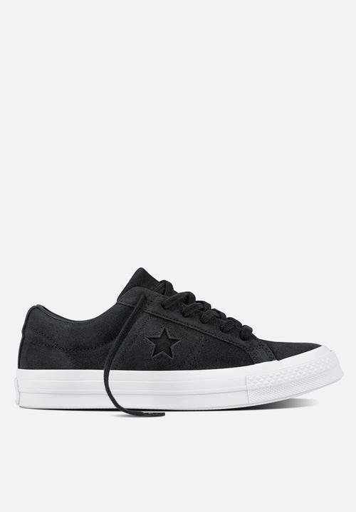 b6942fe960ce Converse Cons One Star Suede - Black Converse Sneakers