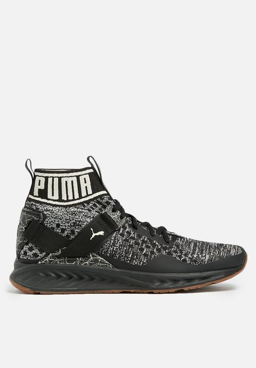 647a2d5bd4f6 Puma Ignite Evoknit Hypernature - 19033703 - Black PUMA Trainers ...