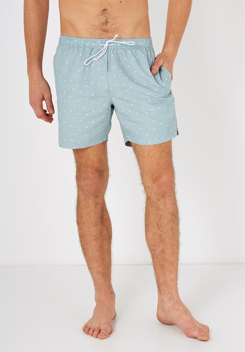 7c763ea9b1 Swim shorts - Aqua micro scribble Cotton On Swimwear | Superbalist.com