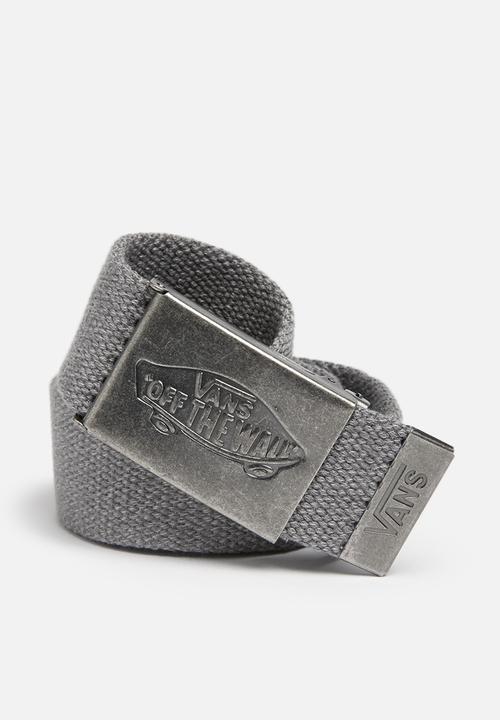 e013c85fee Conductor II web belt - grey Vans Belts