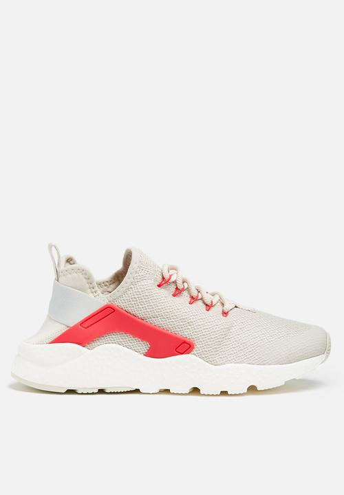 f00cbc5eae4 Nike Air Huarache Run Ultra - 819151-105- Off White Red Nike ...