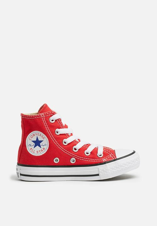 277f6a85dd21 Kids all star hi junior - red Converse Shoes